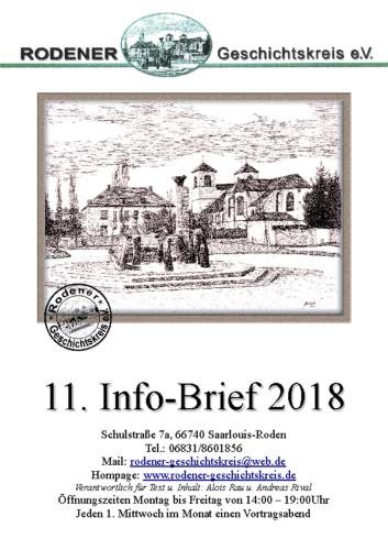 11. Info-Brief 2018