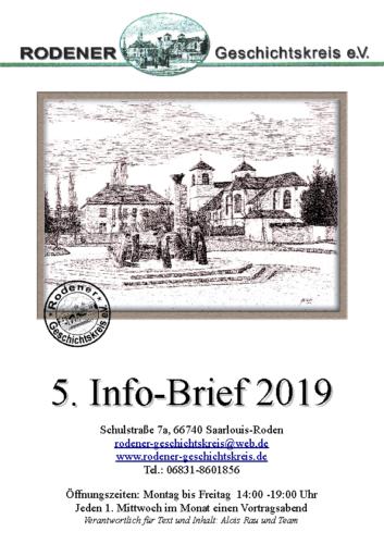 Info-Brief 05-2019