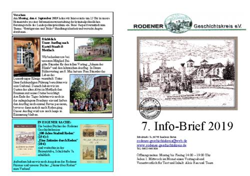Info-Brief 07-2019