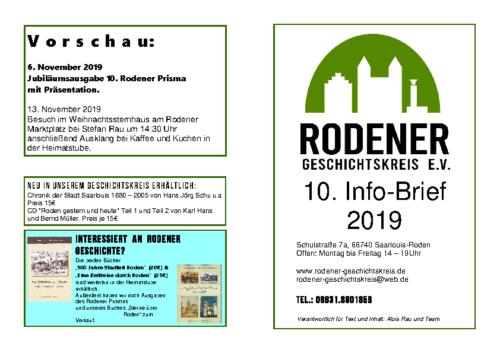 Info-Brief 10-2019