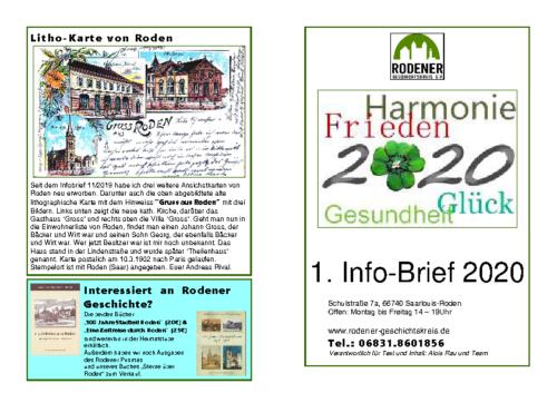Info-Brief 01-2020