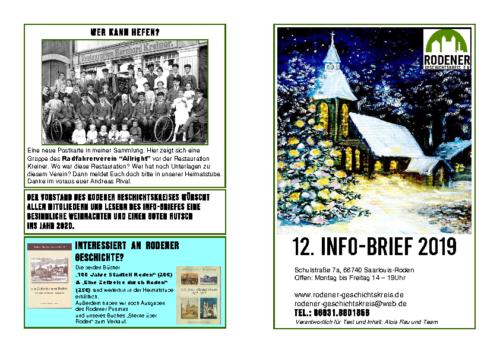 Info-Brief 12-2019
