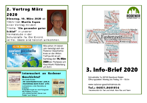 Info-Brief 03-2020