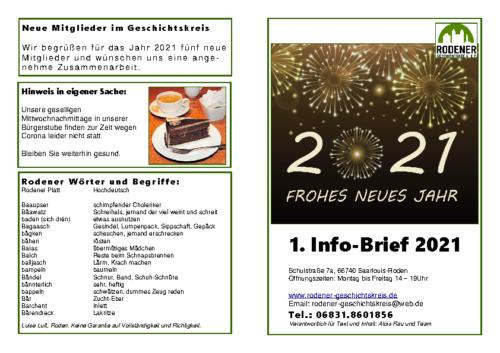 Info-Brief 01-2021