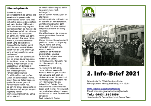 Info-Brief 02-2021
