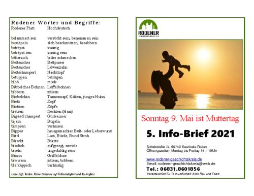 Info-Brief 05-2021
