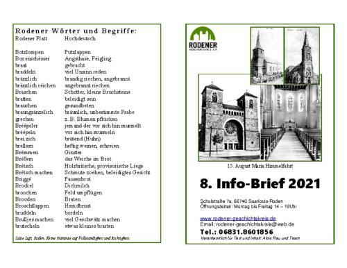 Info-Brief 08-2021